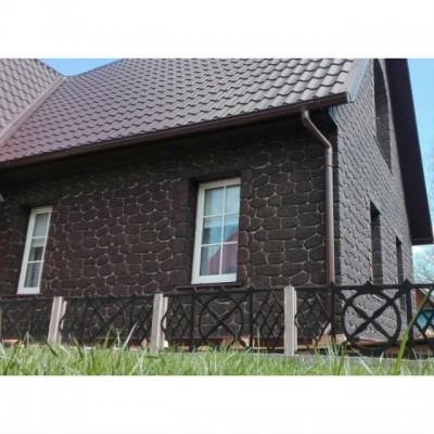 Фасадные панели Альта-Профиль Бутовый камень Датский, 1130х470 мм