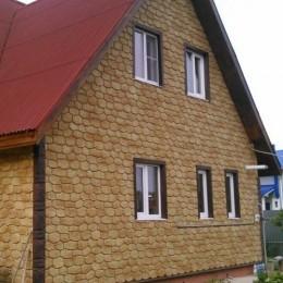 Фасадные панели Альта-Профиль Бутовый камень Греческий