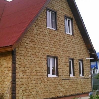 Фасадные панели Альта-Профиль Бутовый камень Греческий, 1130х470 мм