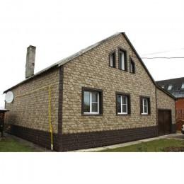 Фасадные панели Альта-Профиль Бутовый камень Нормандский