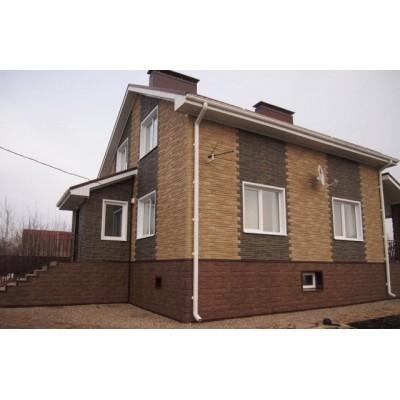 Фасадные панели Альта-Профиль Гранит, Карпатский, 1130х470 мм