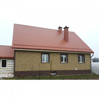 Фасадные панели Альта-Профиль Гранит, Уральский, 1130х470 мм