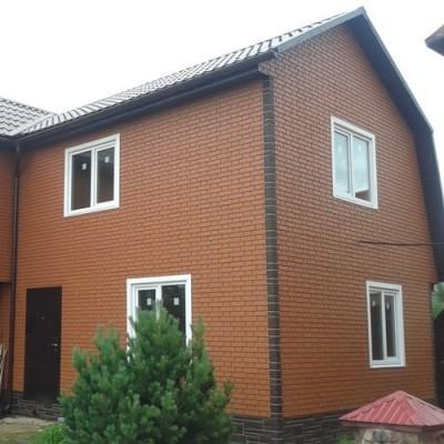 Фасадные панели Альта-Профиль Кирпич клинкерный (Жженый), 1,22 х 0,44 м