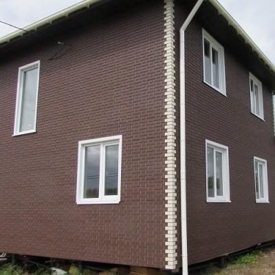 Фасадные панели Альта-Профиль Кирпич клинкерный (Коричневый), 1,22 х 0,44 м