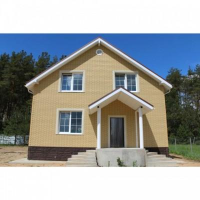 Фасадные панели Альта-Профиль Кирпич клинкерный (Жёлтый), 1,22 х 0,44 м