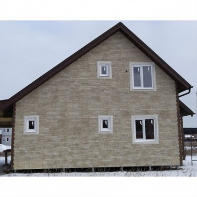 Фасадные панели Альта-Профиль Скалистый камень Алтай, 1,16 х 0,45 м