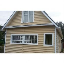 Сайдинг Блок Хаус (Blockhouse) Альта-Профиль Золотистый