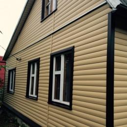 Сайдинг Блок Хаус (Blockhouse) Альта-Профиль BH3 малый двухпереломный - золотистый