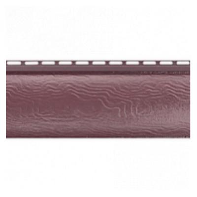 Сайдинг Блок Хаус (Blockhouse) Альта-Профиль Красно-коричневый