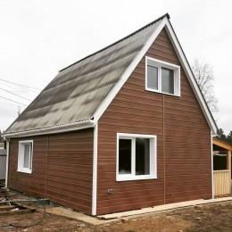 Сайдинг Блок Хаус (Blockhouse) GRAND LINE TUNDRA D4,8 - рябина