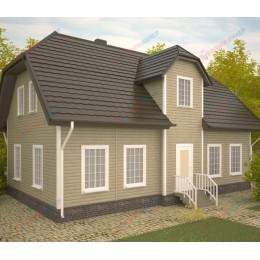 Сайдинг Блок Хаус (Blockhouse) Двупереломный Бук