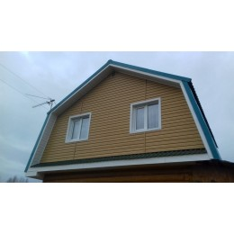 Сайдинг Блок Хаус (Blockhouse) Тимберблок Кедр Янтарный