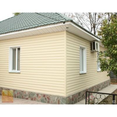Сайдинг Ю-пласт Блок-хаус Кофе с молоком 3,4х0,23 м