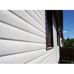 Сайдинг Блок Хаус (Blockhouse) Тимберблок Ясень белый