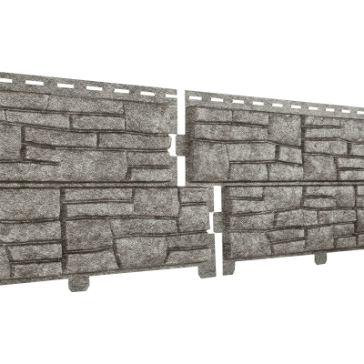 Цокольный сайдинг Ю-Пласт Stone House сланец бежевый