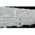 Цокольный сайдинг Ю-ПЛАСТ Стоун-Хаус Сланец Светло-серый