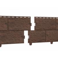 Цокольный сайдинг Стоун-хаус камень жженый (двойной замок)
