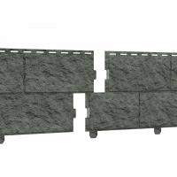 Цокольный сайдинг Стоун-хаус камень изумрудный (двойной замок)