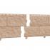 Цокольный сайдинг Стоун-хаус Камень Золотистый (двойной замок)