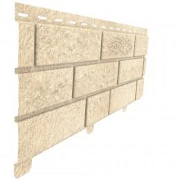 Цокольный сайдинг Ю-Пласт Stone House кирпич песочный
