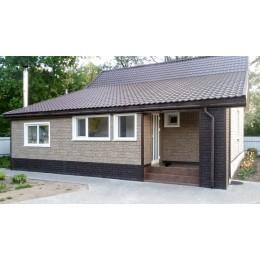 Цокольный сайдинг Ю-Пласт Stone House сланец светло-серый