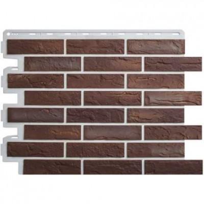 Фасадные панели Альта-Профиль Кирпич Рижский 1
