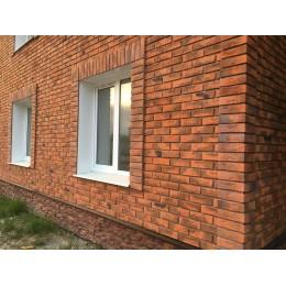 Фасадные панели Альта-Профиль Кирпич Рижский 2