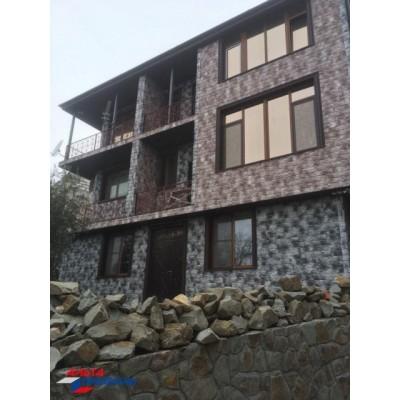 Фасадные панели Альта-Профиль ТУФ (Камчатка), 0,796 х 0,591 м
