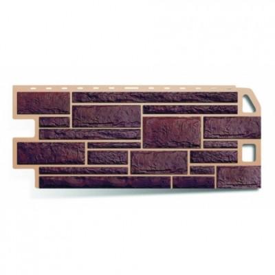 Фасадные панели Альта-Профиль Камень Жженый