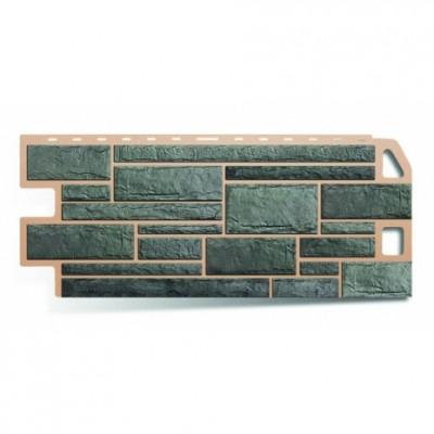 Фасадные панели Альта-Профиль Камень Серый