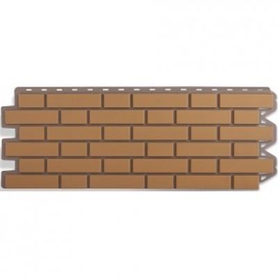 Фасадные панели Альта-Профиль Кирпич клинкерный Бежевый