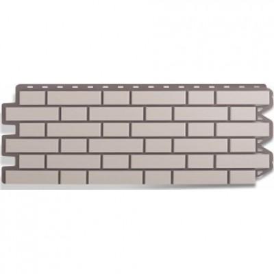 Фасадные панели Альта-Профиль Кирпич клинкерный Белый