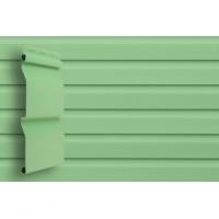 Виниловый сайдинг Grand Line D4 Slim (Салатовый) Корабельный брус