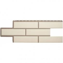 Фасадные панели Альта-Профиль Венецианский камень Белый