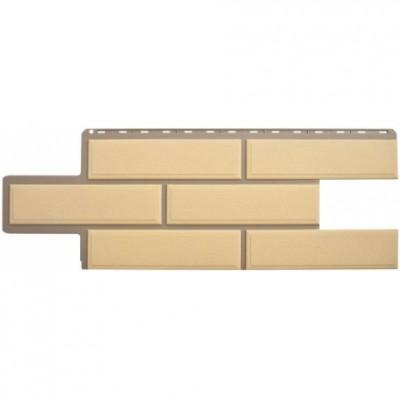 Фасадные панели Альта-Профиль Венецианский камень Песчаный
