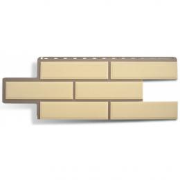 Фасадные панели Альта-Профиль Венецианский камень Слоновая кость