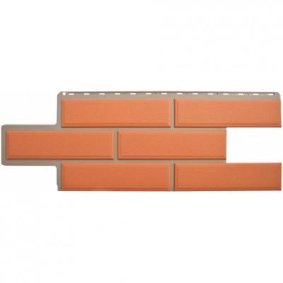 Фасадные панели Альта-Профиль Венецианский камень Терракотовый