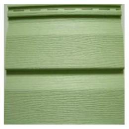 Сайдинг Ю-пласт Корабельный брус Зеленый