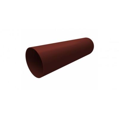 Труба водосточная 3м (шоколадная)