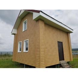 Сайдинг Блок Хаус (Blockhouse) GRAND LINE TUNDRA D4,8 - клен