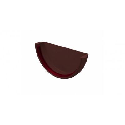 Заглушка желоба ПВХ Grand Line (шоколадная)