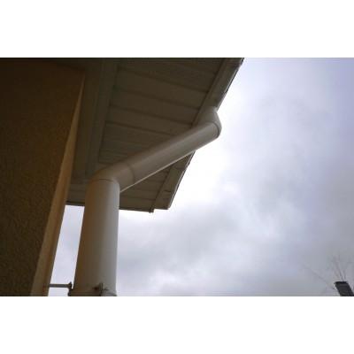 Труба водосточная Murol ПВХ белая 100 х 3000 мм
