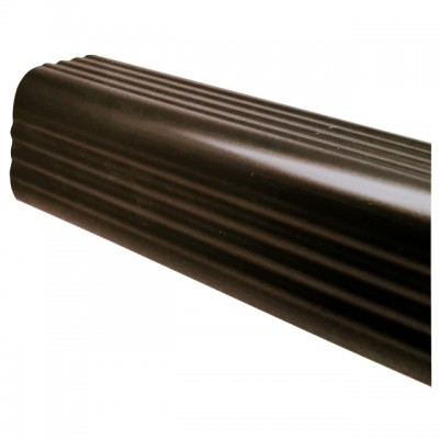 Труба водосточная ПВХ Murol U-110 D67мм 2м коричневая