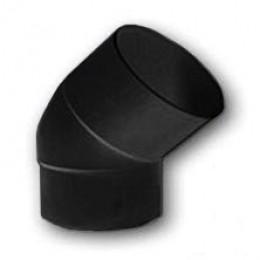 Отвод соединения (колено) водосточной трубы 80 мм 67° (коричневый)