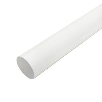 Труба водосточная 80 мм x 3 м (белая)