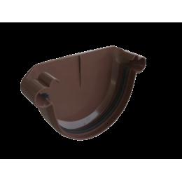 Заглушка желоба универсальная (коричневая)