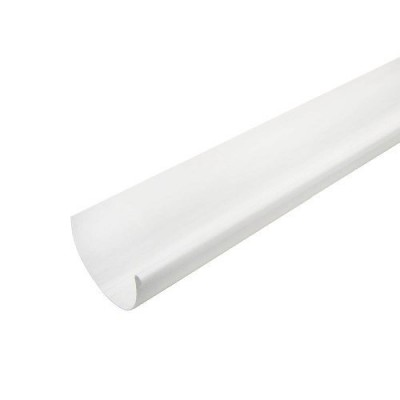 Желоб водосточный 4 м (белый)