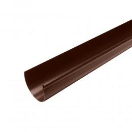 Желоб водосточный 2 м (коричневый)