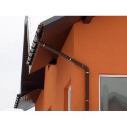 Желоб водосточный 110мм 2 м (коричневый)
