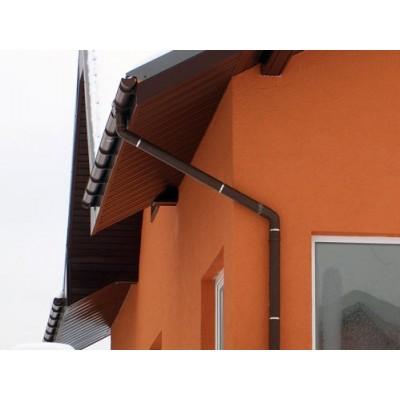 Желоб водосточный ПВХ Murol D110мм 2м коричневый